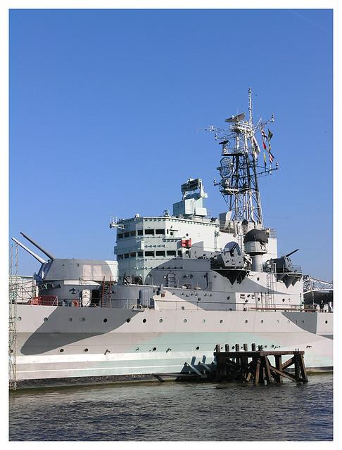 HMS Belfast detail
