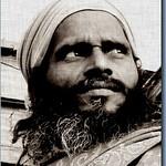 * Holy man in Ganga #3 *