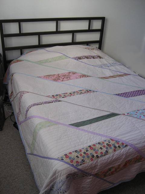 Lauren's quilt finished