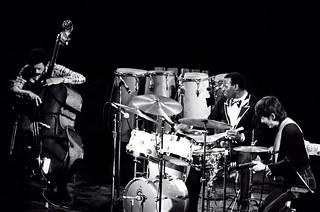 Elvin Jones Trio - David Williams Elvin Jones Ryo Kawasaki | by Tom Marcello