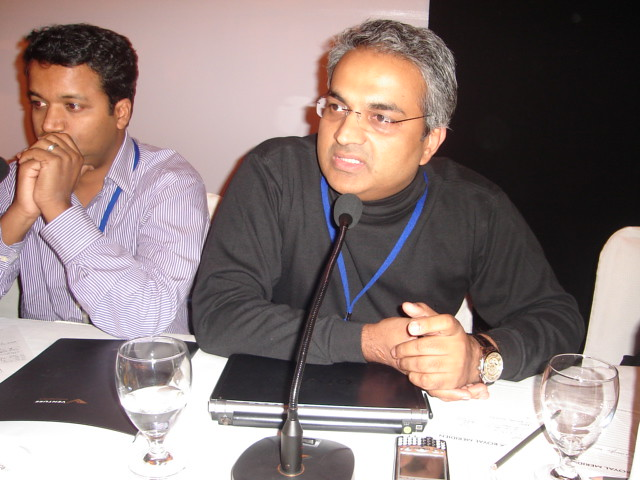 Mahesh Murthy (R) and Ravi Adusumalli   venture intelligence   Flickr