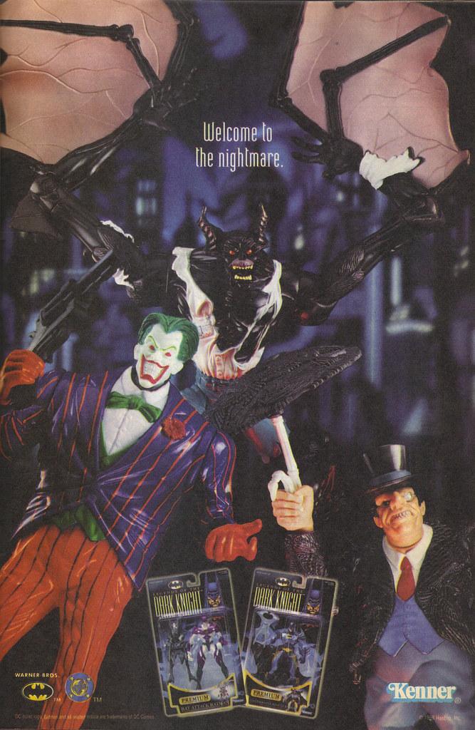 "KENNER:: ""LEGENDS OF THE DARK KNIGHT"".. "" - NIGHTMARE"" ii (( 1998 )) by tOkKa"