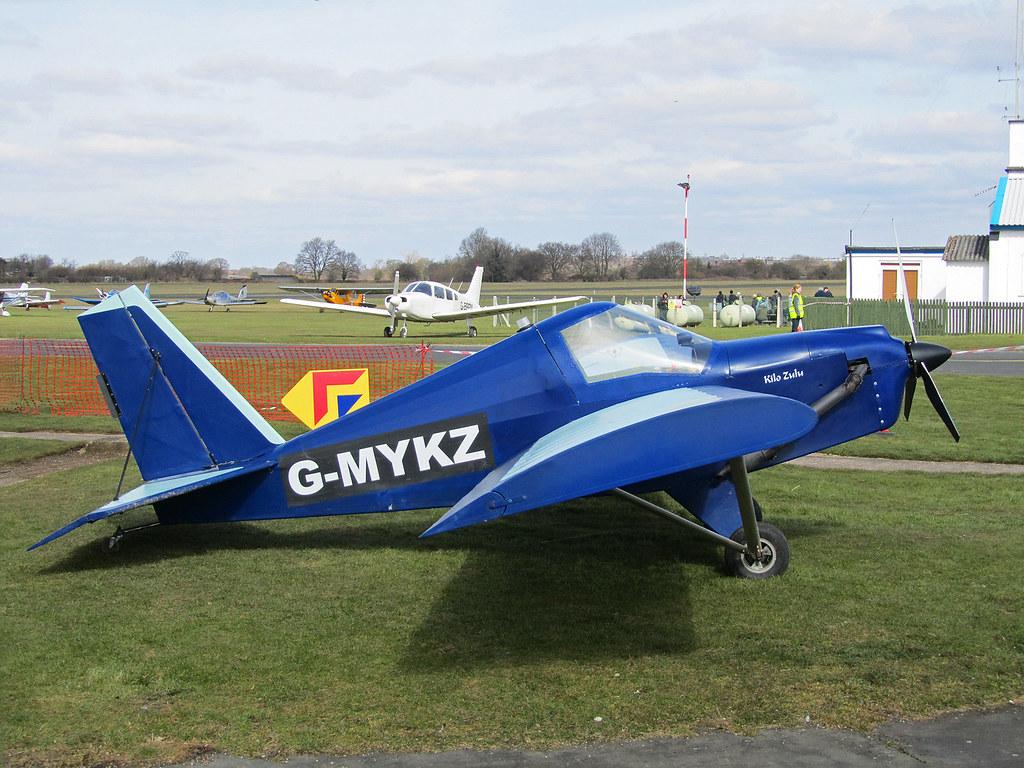 G-MYKZ TEAM Minimax | G-MYKZ TEAM Minimax at Halfpenny Green