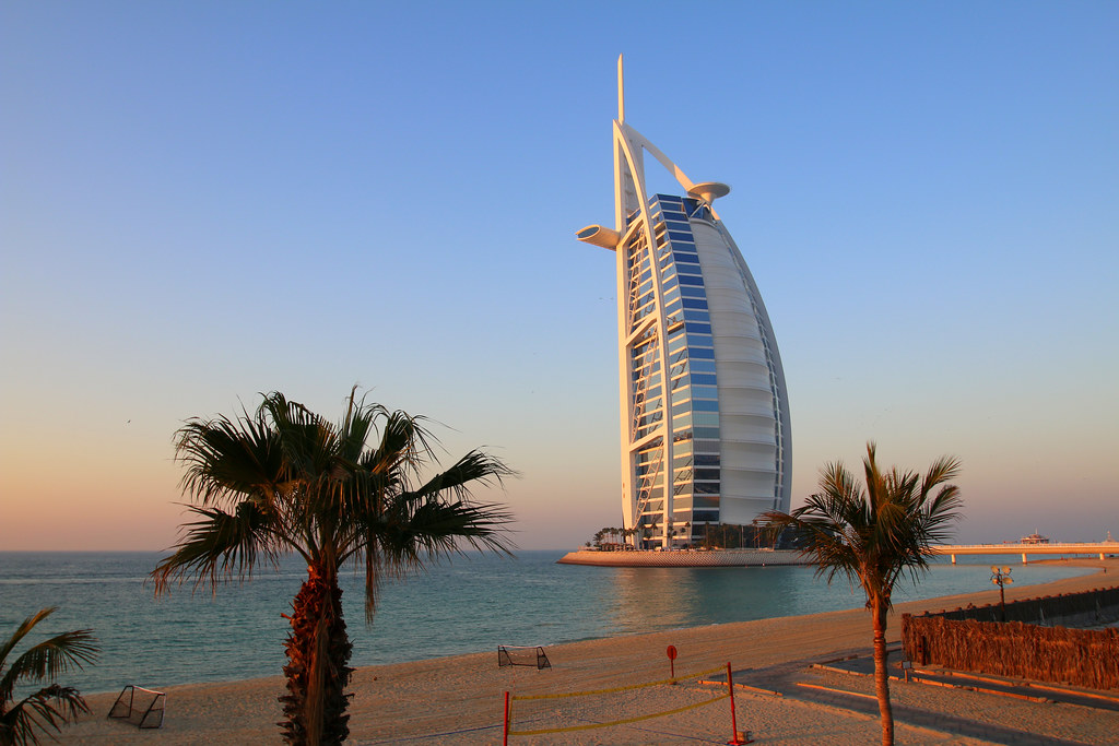 Burj al Arab in Dubai / برج العرب