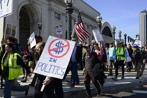 Democracy Spring March Arrives In DC 6 | by Stephen D. Melkisethian