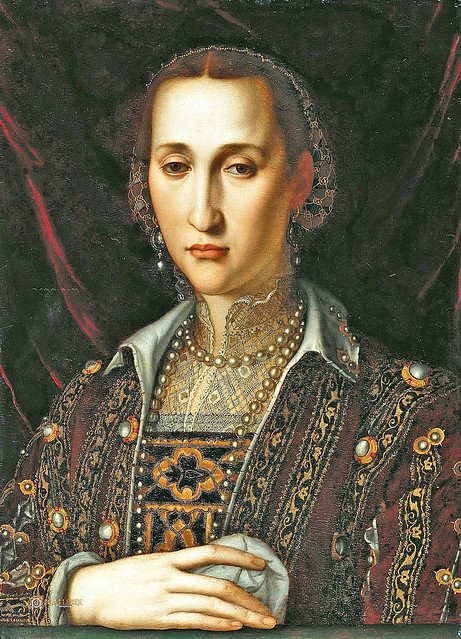 Workshop of Bronzino - Eleonora di Toledo