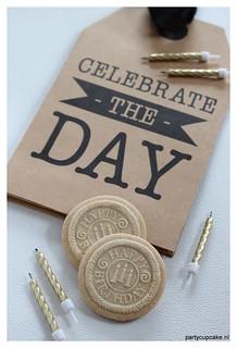 Happy Birthday Springerle cookies