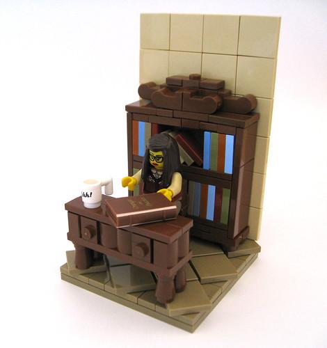 Librarian   by Halhi141