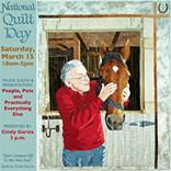 National Quilt Day, Saturday, March 15, 2014, Kenosha Public Museum, Kenosha, WI