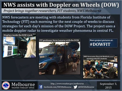NWA Assists with Doppler on Wheels