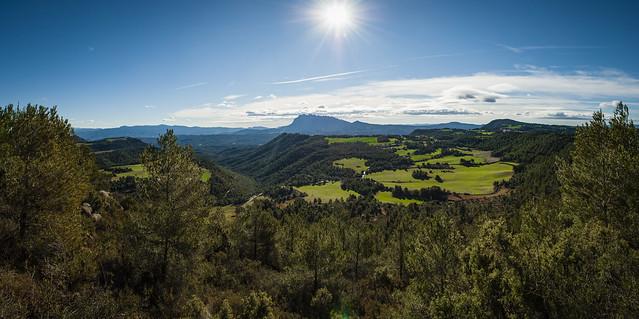 Panoramica de la Solana de Cal Torre i Montserrat