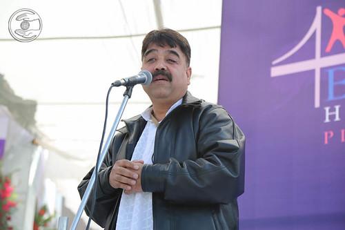 Chiranjeev from Lansi expresses his views
