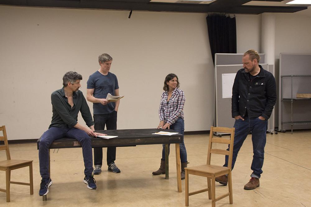 Jeff Parker, Nathan Hosner, Director Kimberly Senior, Mark Montgomery