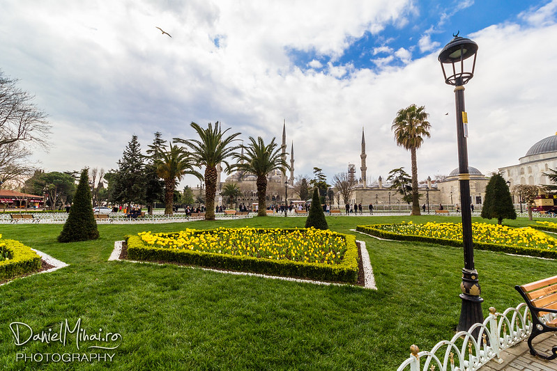 Sultan Ahmet Park - Istanbul by Daniel Mihai