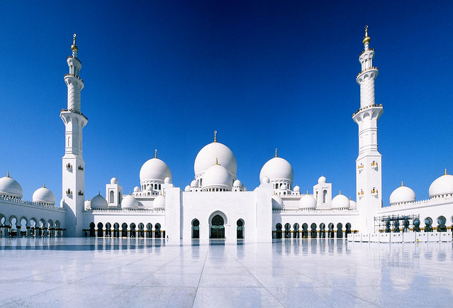 Grand Mosque - Velvia 50 Panorama