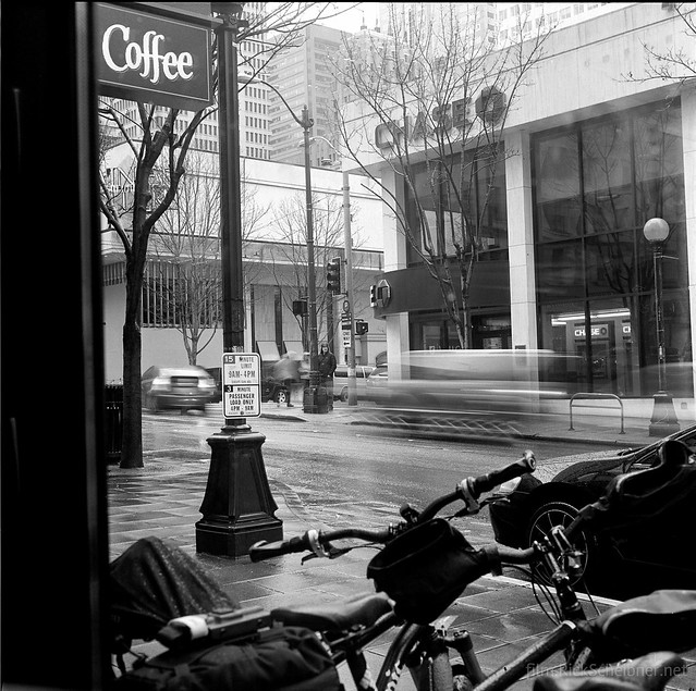 Coffee Chase in Seattle.