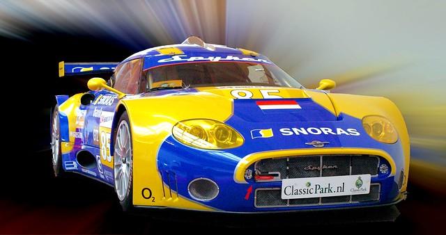 2010 Spyker C8 Aileron Le Mans racer