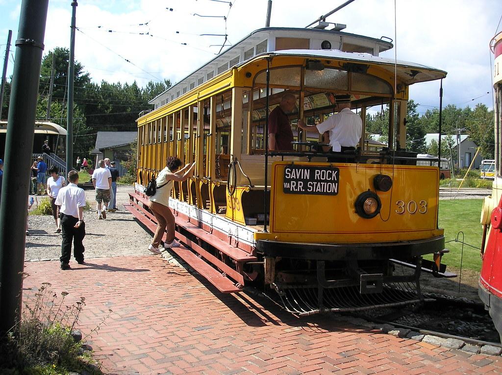 303, Seashore Trolley Museum