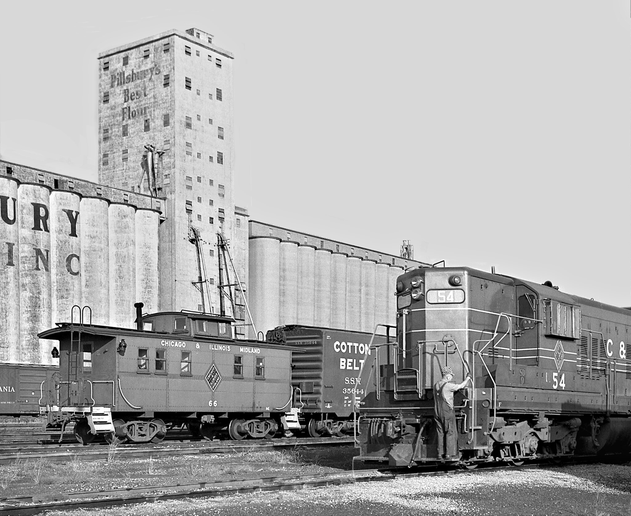 Apr 1946 Alton & Southern #6 E. St Louis Illinois VINTAGE