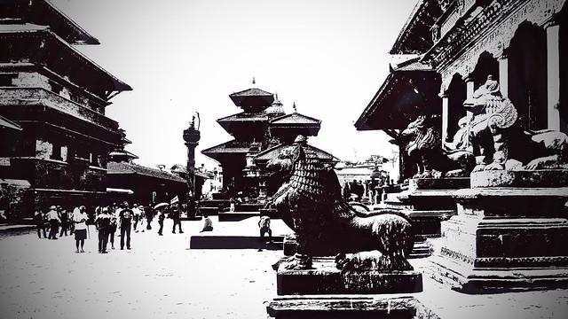 Nepal - Patan - Durbar Square - 40c