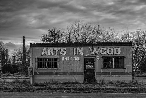 old blackandwhite bw building abandoned monochrome clouds us blackwhite texas phone unitedstates phonebooth payphone derelict texascity artsinwood
