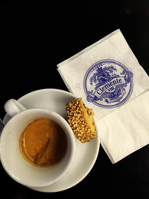 Espresso στο Clemente VIII