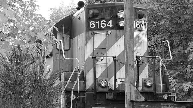 POTB 6164 Lost Train Black and White!