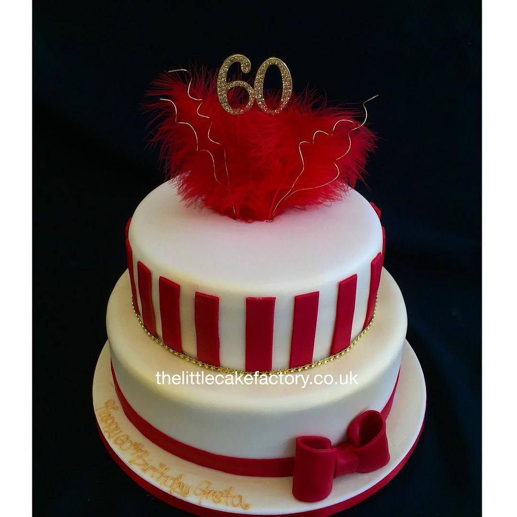 Incredible Red Hot 60Th Birthday Cake 60Th 60 Redhot Celebration Flickr Personalised Birthday Cards Sponlily Jamesorg