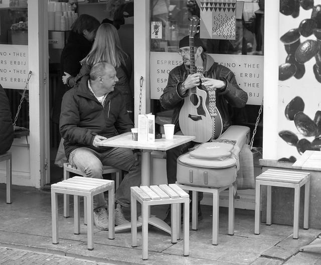 Simon Levelt Cafe on the Oudegracht