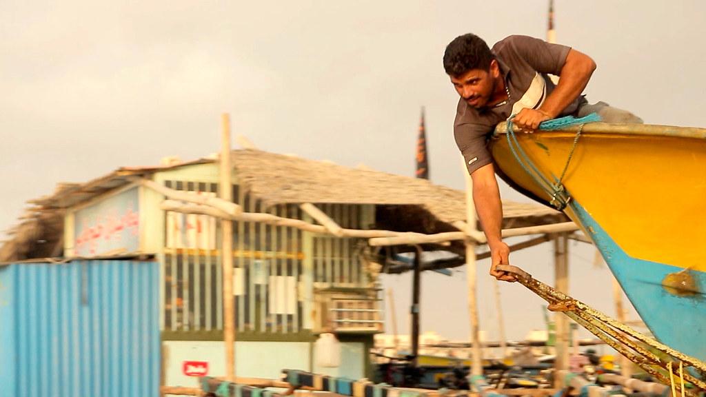 Boat Ramp • Fishermen Launching Freestyle • Bandar Abbas • IRAN-14