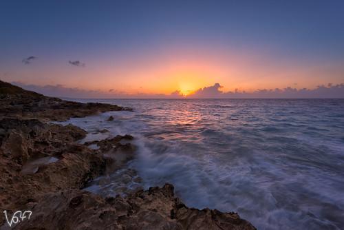 ocean morning sea sky cloud sun beach water rock sunrise landscape dawn coast atlantic shore d750 bermuda