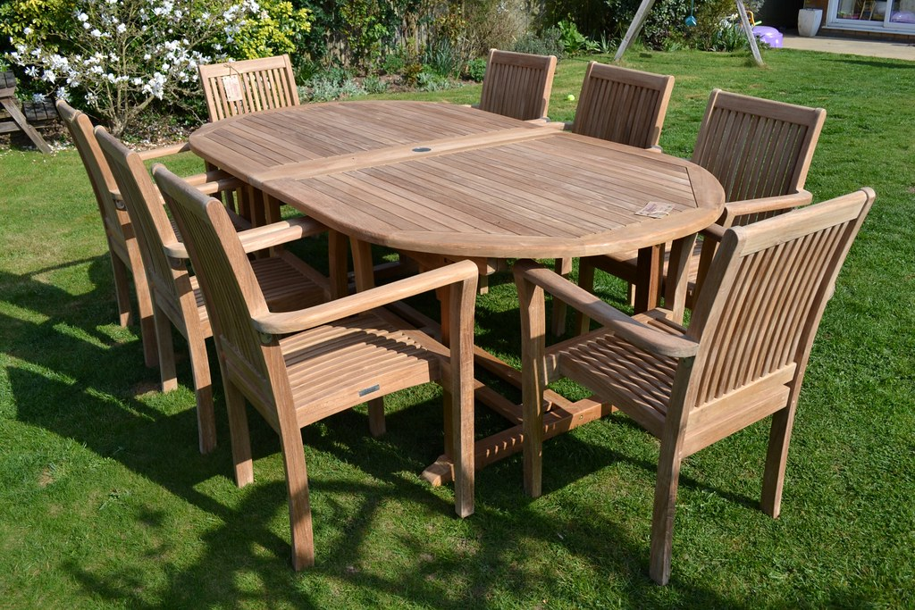 Astonishing Teak Garden Furniture Patio Set Hi Everyone Hope You Like Machost Co Dining Chair Design Ideas Machostcouk