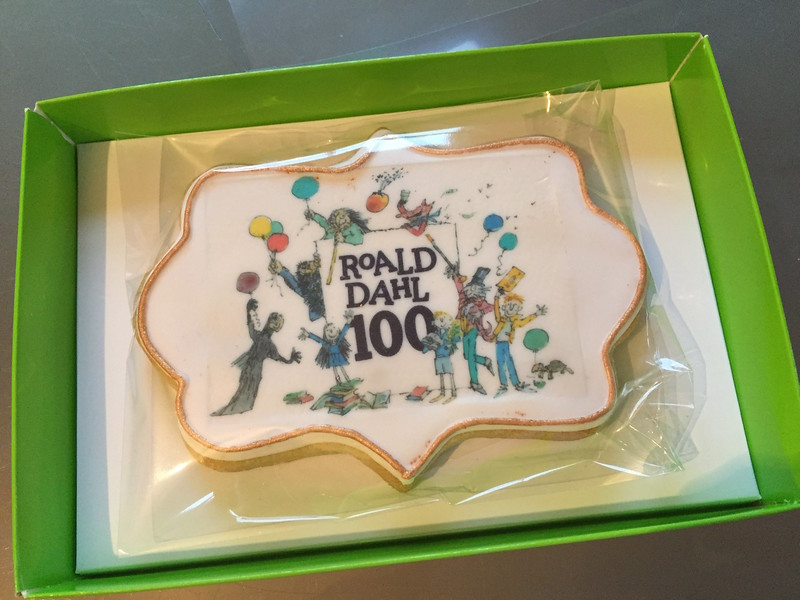 Corporate discuits - Roald Dahl centenary