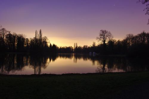 sunset evening sonnenuntergang coucherdusoleil schlossschwetzingen