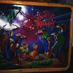 Awesome #vintage #lunchbox #SecretOfNimh #TomKhayos #ToyGameScroogeMcDuck #toyfinds #toyhustle #ToyGameJohnRockefeller #toyhorder #toysagram #ToysAreMyDrug #animation #80s #fleamarketfinds #RagingNerdgasm