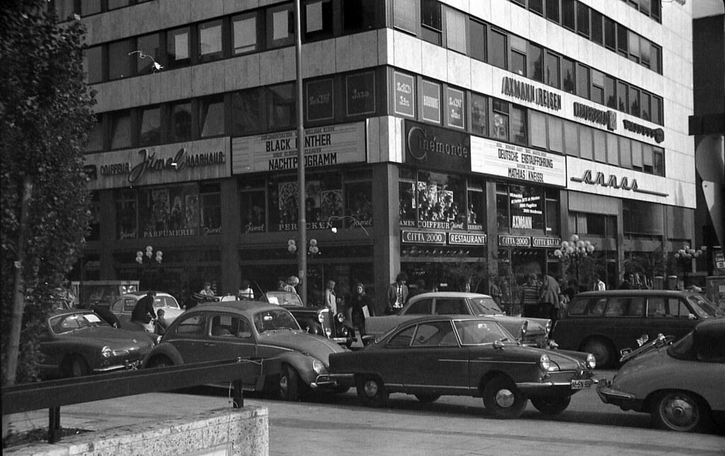 Citta 2000 München Leopoldstrasse 1972 | Fast so legendär