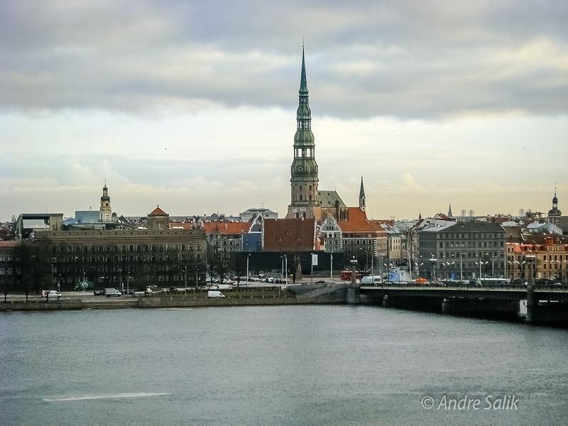 Winter in Riga. Der Winter in Riga :) Svētā Pētera baznīca церковь Петра