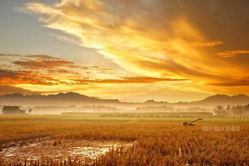 morning sunrise indonesia landscape golden sony hdr skyhdr flickrunitedaward