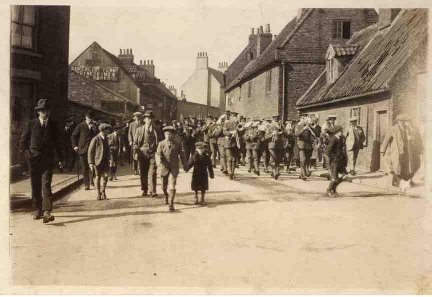 Parade in Keldgate, Beverley 1920 (archive ref DDX1525-1-5 (4))