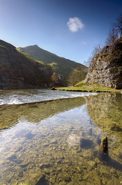 Dovedale Reflections