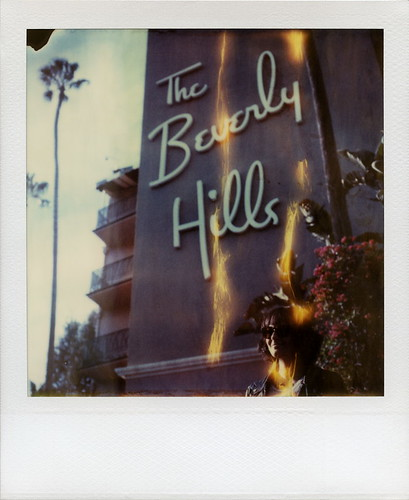 california ca sunset toby portrait woman tree film sunglasses leather sign polaroid sx70 photography hotel spring time balcony flames shades palm bougainvillea hills hotelcalifornia jacket april instant week beverly day3 hancock expired divot zero flaming blvd tz theeagles timezero roid the 2016 0906 polaroidweek roidweek polawalk 022216 azureé