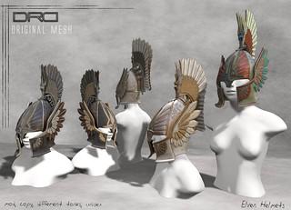 DRD- elven helmets | by jaimy hancroft