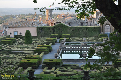Villa Lante, Bagnaia | by Le Terrae www.leterrae.com