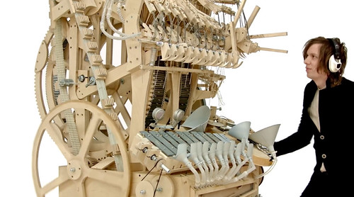 The Wintergatan Marble Machine | by katexic