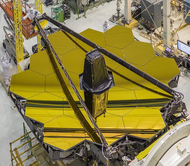 James Webb Space Telescope's Golden Mirror