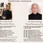 Innenseite des Flyers von Pfarrer Bonaventura Dumea anläßlich seines 50-jährigen Priesterjubiläums