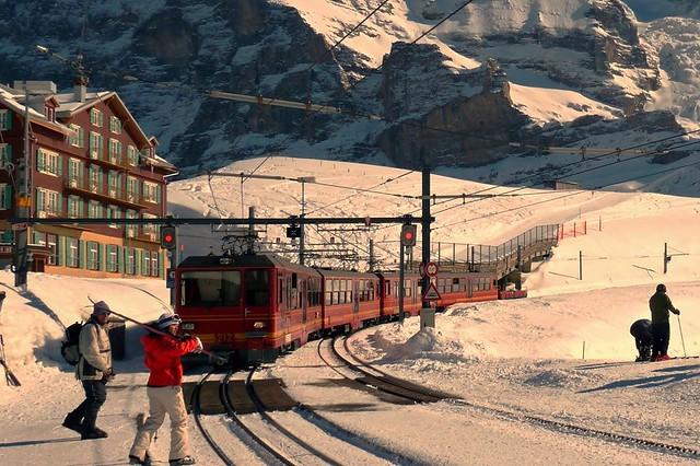 Kleine Scheidegg - Jungfraubahn Switzerland