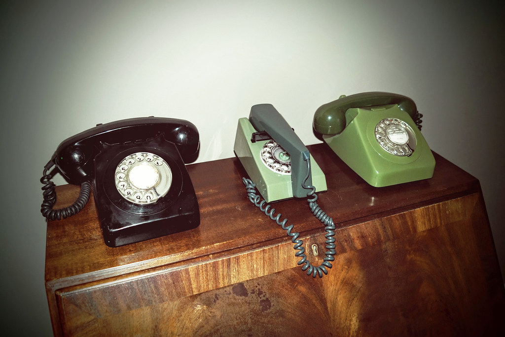 Old Telephones | UK GPO early 1970's | Neil Vance | Flickr