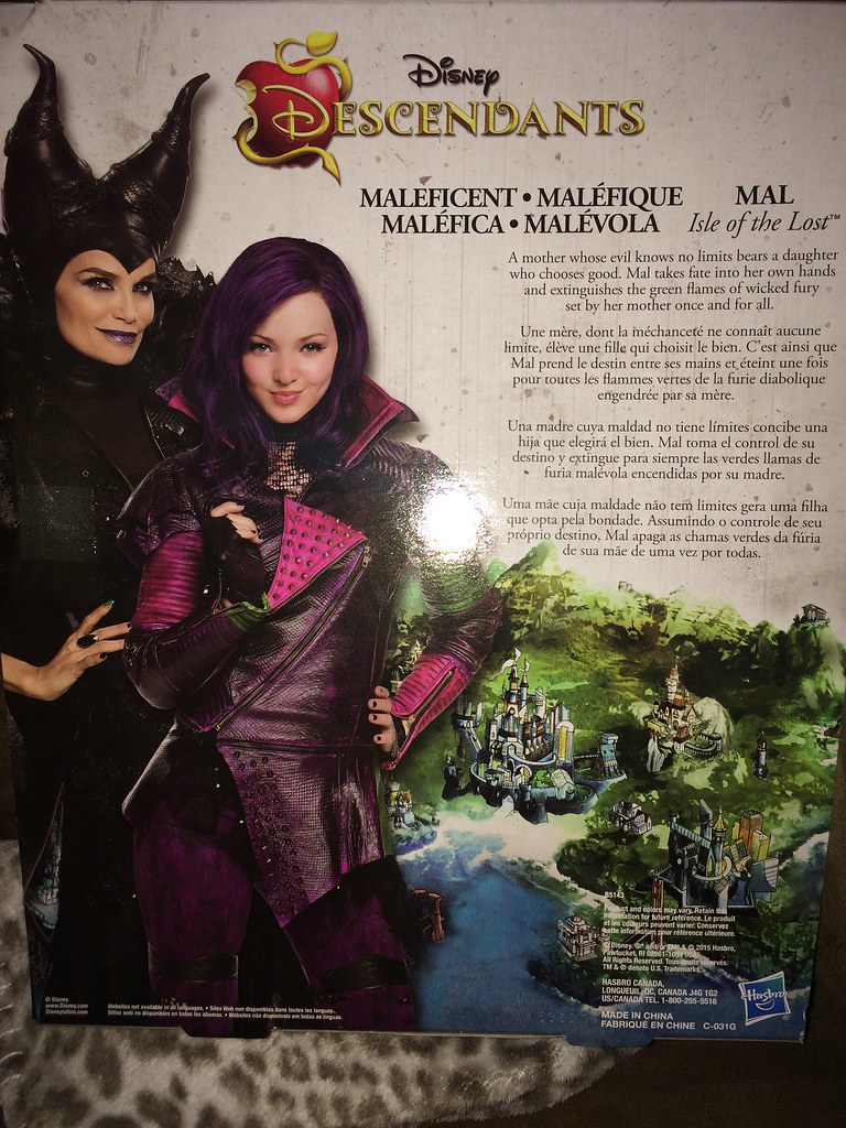 Disney Descendants Maleficent And Mal This Is An Awesome
