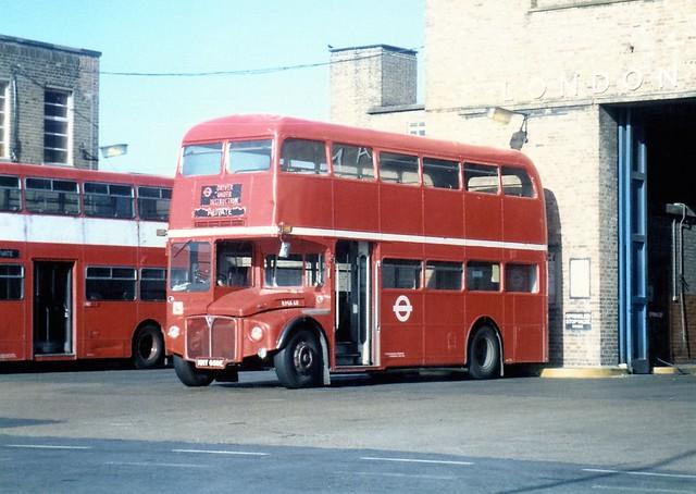 RMA60 at Wandsworth Bus Garage
